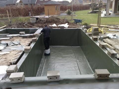 Vijvers bassins homma for Epdm rubberfolie vijver